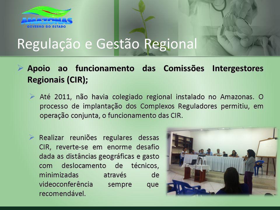 Regulação e Gestão Regional