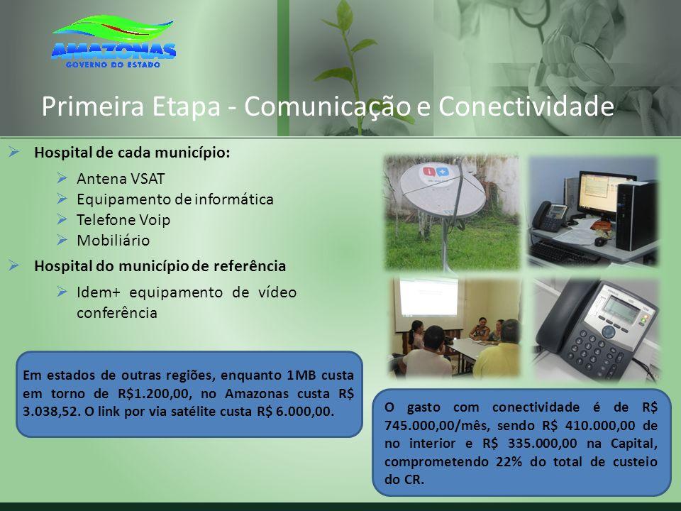 Primeira Etapa - Comunicação e Conectividade
