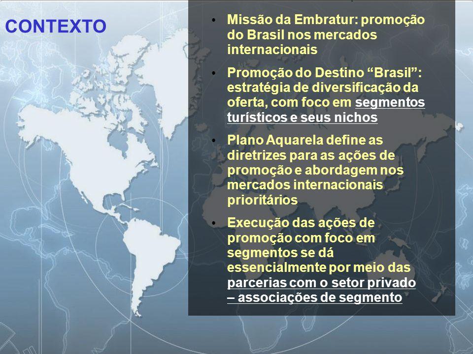 29/06/09 Missão da Embratur: promoção do Brasil nos mercados internacionais.