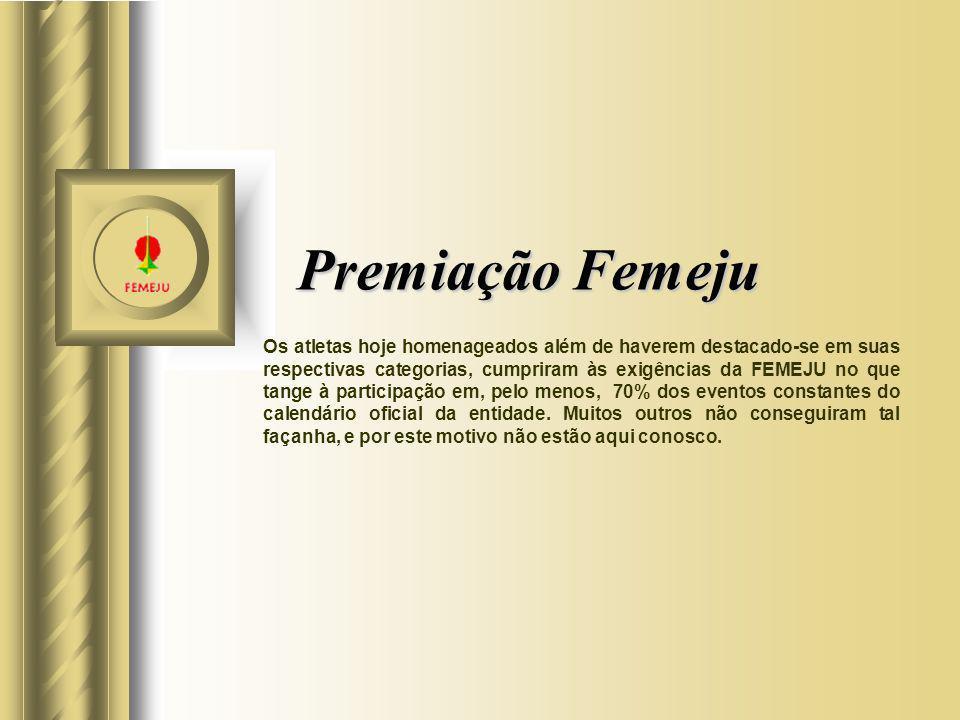Premiação Femeju