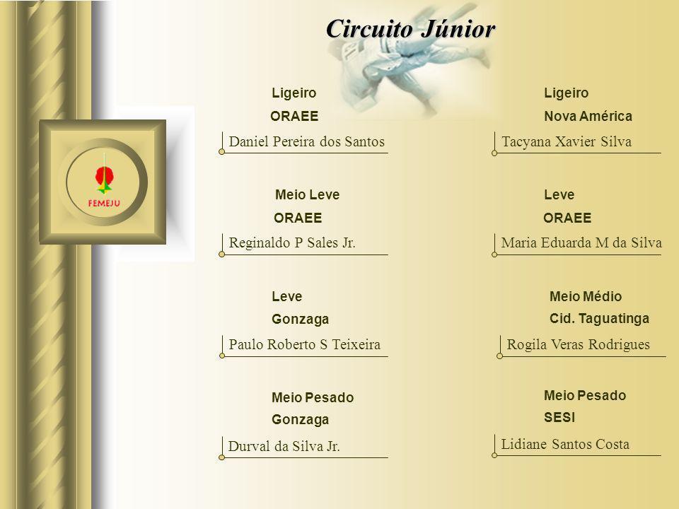 Circuito Júnior Daniel Pereira dos Santos Tacyana Xavier Silva