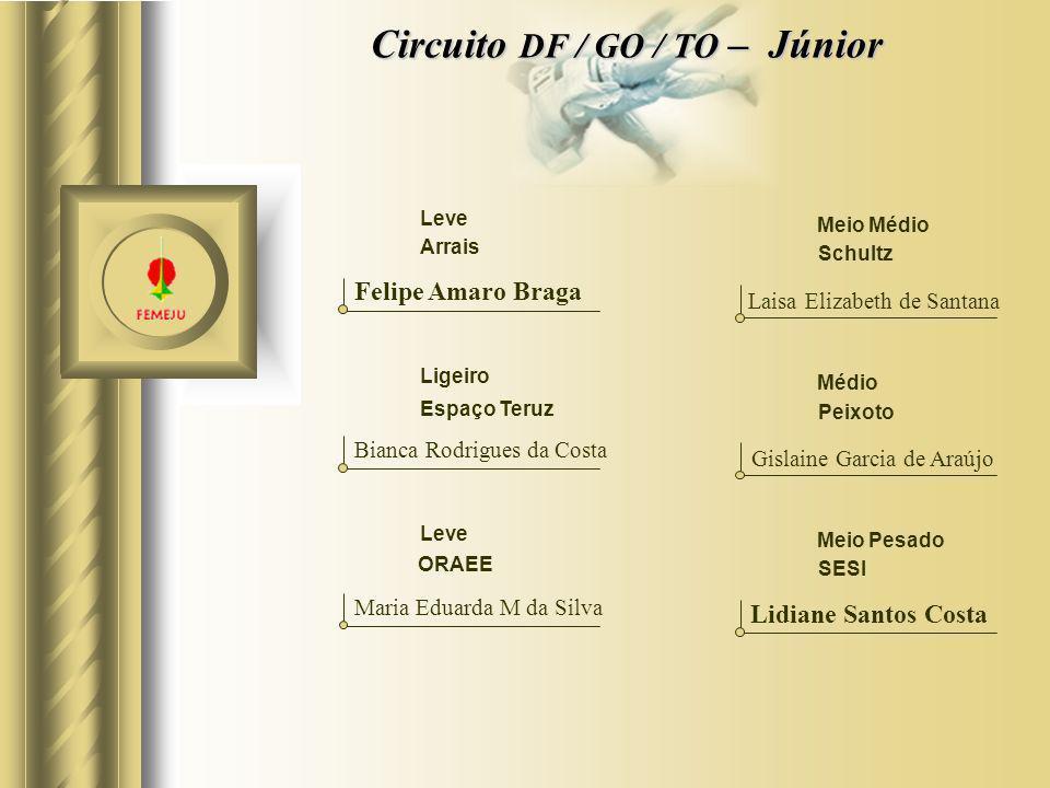 Circuito DF / GO / TO – Júnior