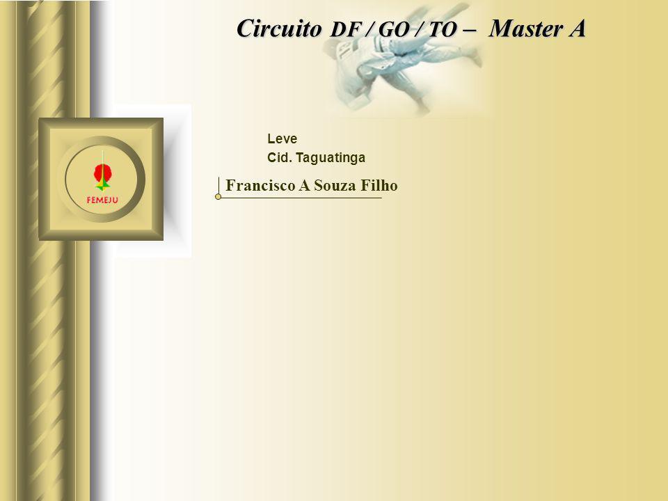 Circuito DF / GO / TO – Master A