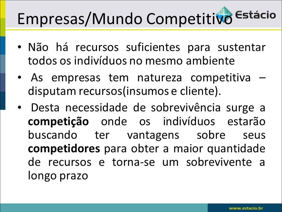 Empresas/Mundo Competitivo