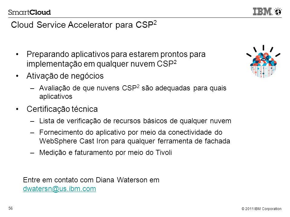 Cloud Service Accelerator para CSP2