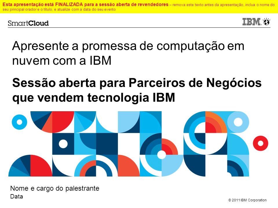 Apresente a promessa de computação em nuvem com a IBM