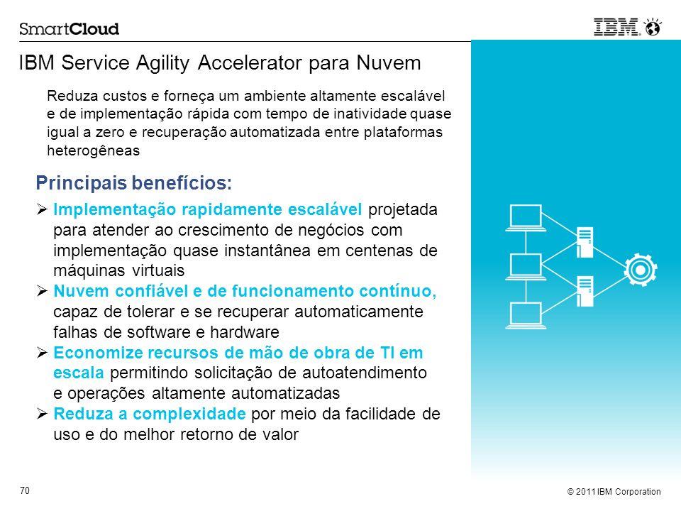 IBM Service Agility Accelerator para Nuvem