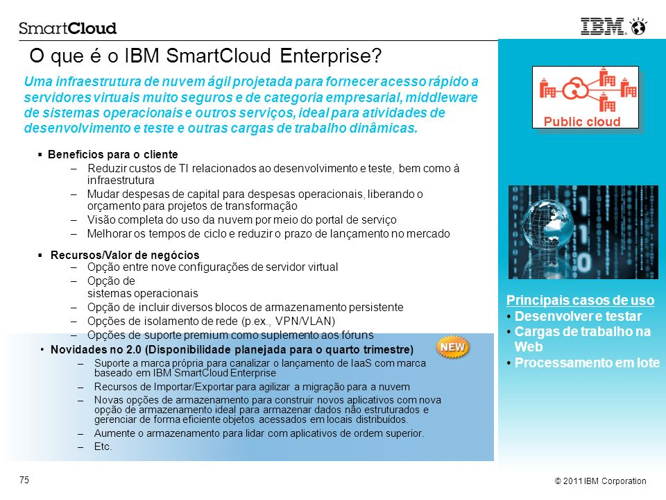 O que é o IBM SmartCloud Enterprise