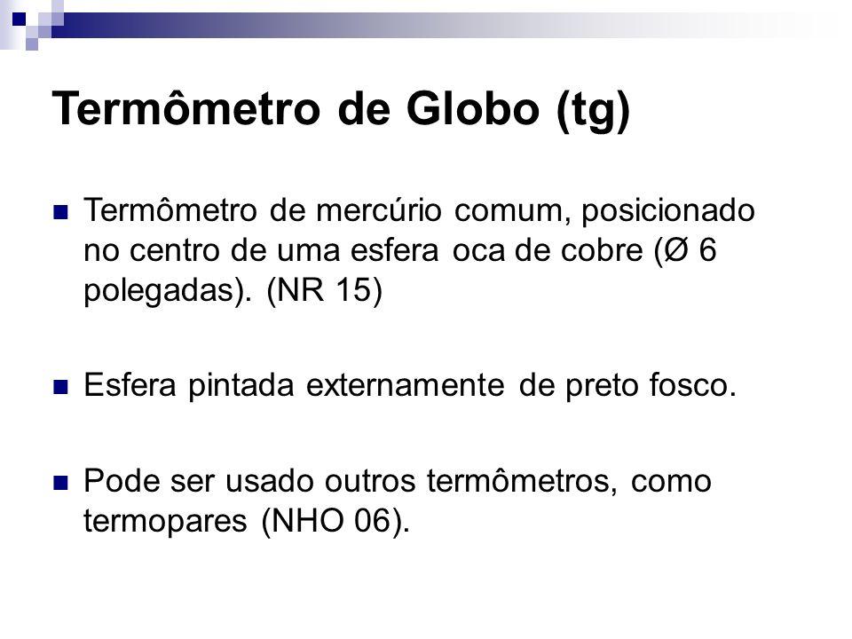 Termômetro de Globo (tg)
