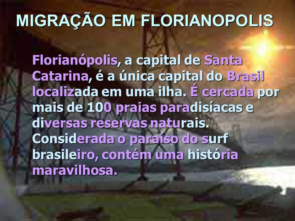 MIGRAÇÃO EM FLORIANOPOLIS