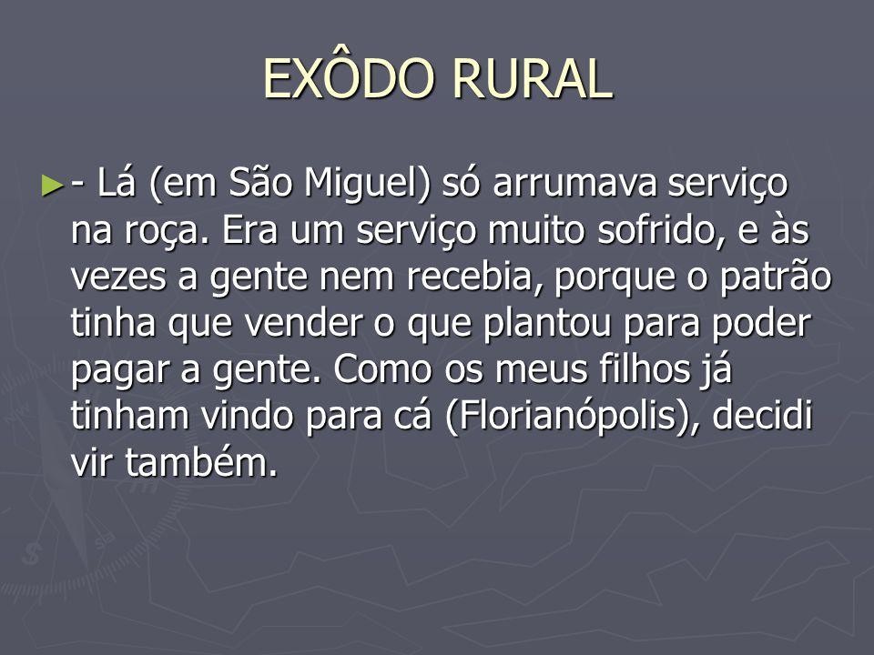 EXÔDO RURAL