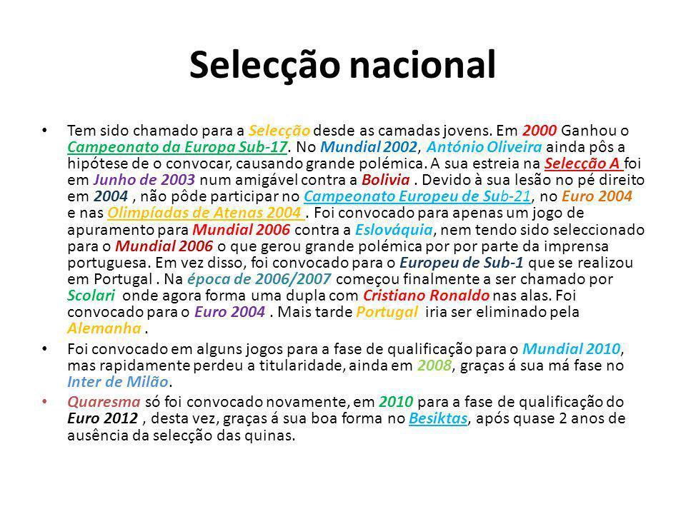 Selecção nacional