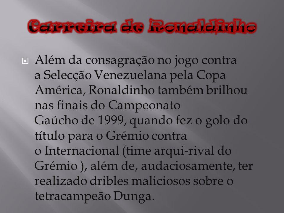 Carreira de Ronaldinho