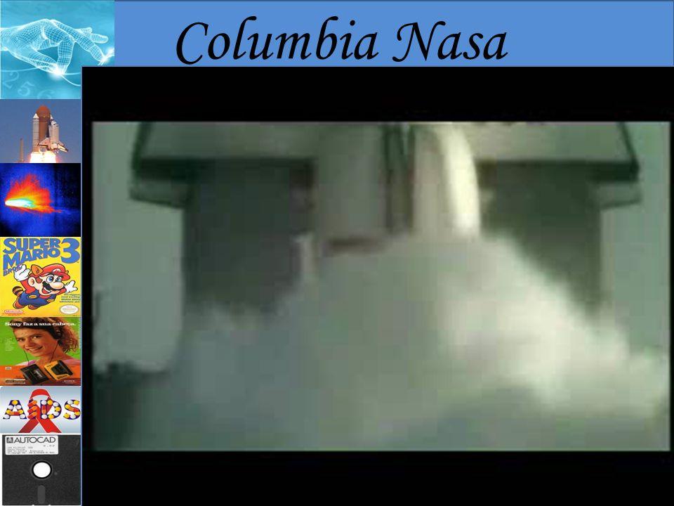Columbia Nasa Primeira nave com asas da agência espacial dos Estados Unidos;