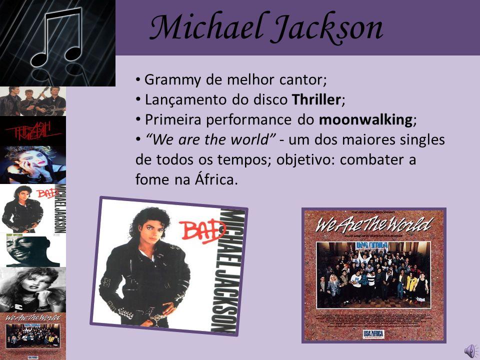 Michael Jackson Lançamento do disco Thriller;
