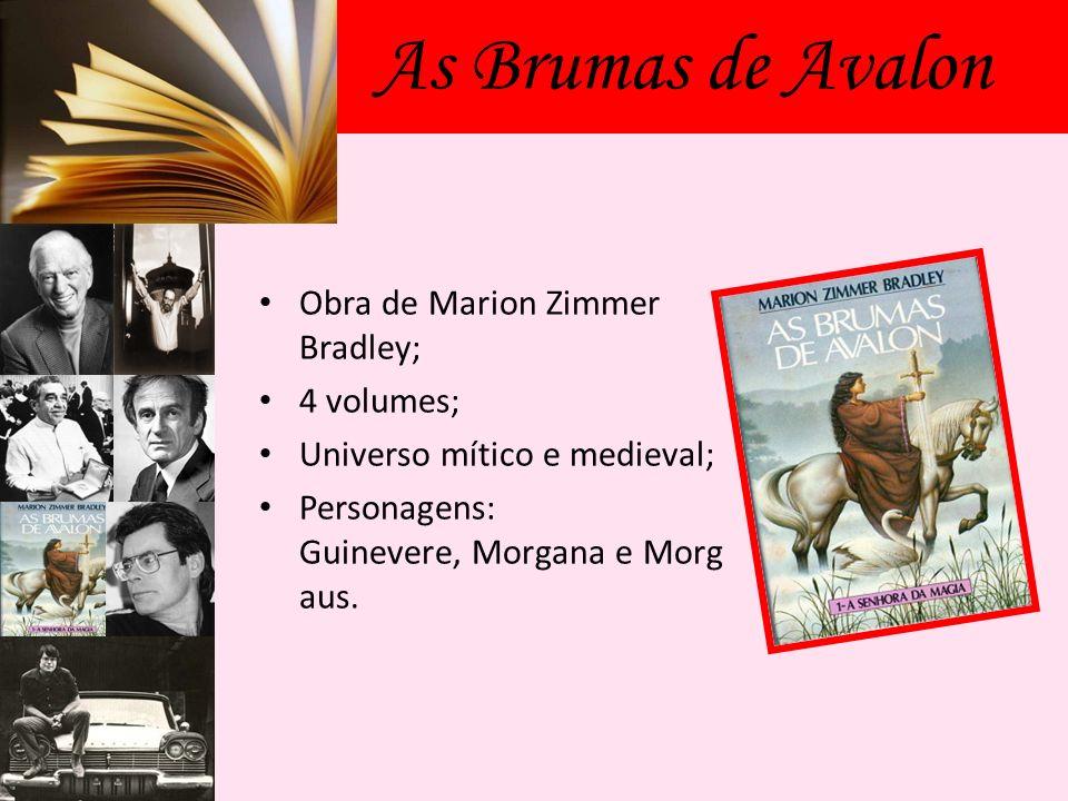 As Brumas de Avalon Obra de Marion Zimmer Bradley; 4 volumes;
