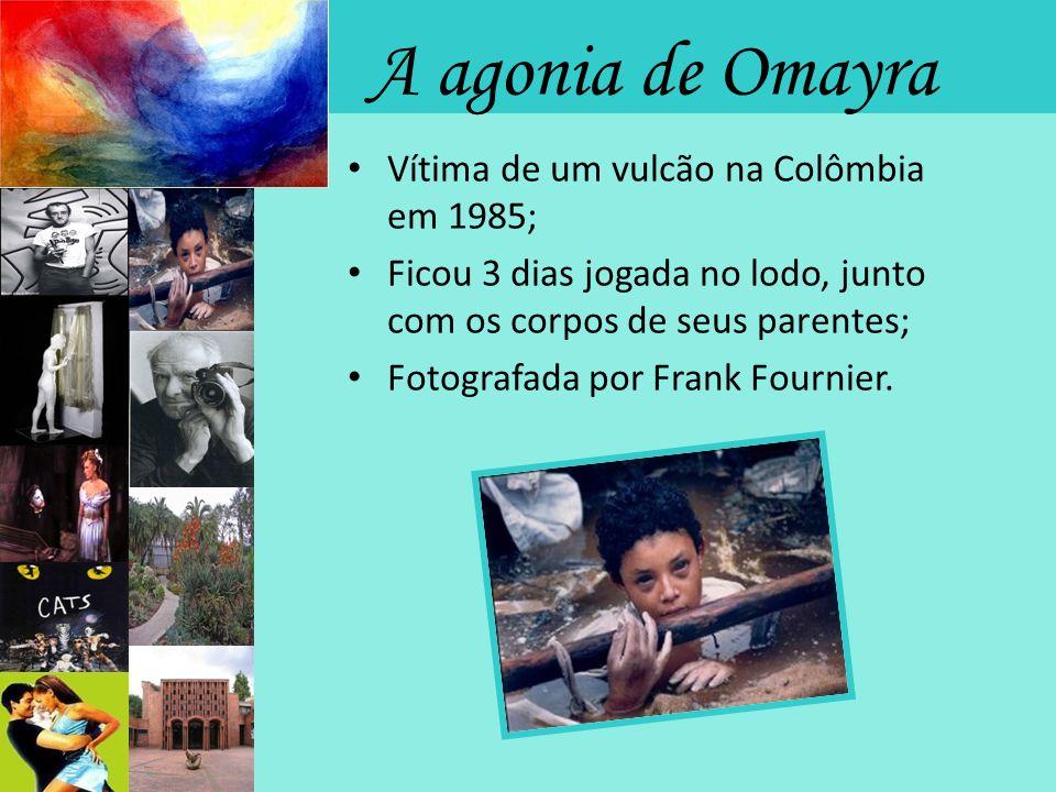A agonia de Omayra Vítima de um vulcão na Colômbia em 1985;