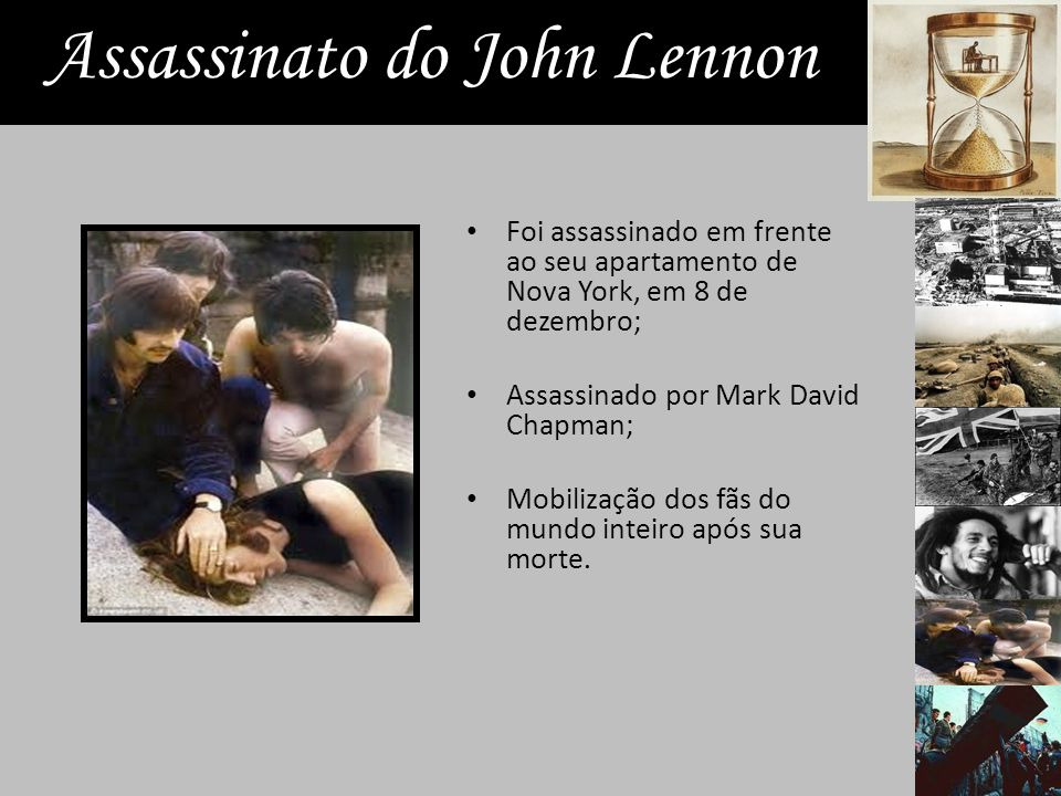 Assassinato do John Lennon