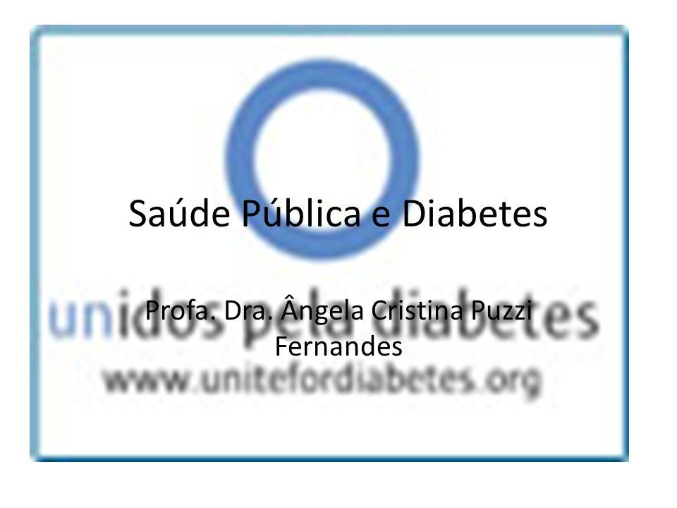 Saúde Pública e Diabetes