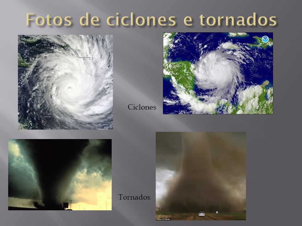 Fotos de ciclones e tornados
