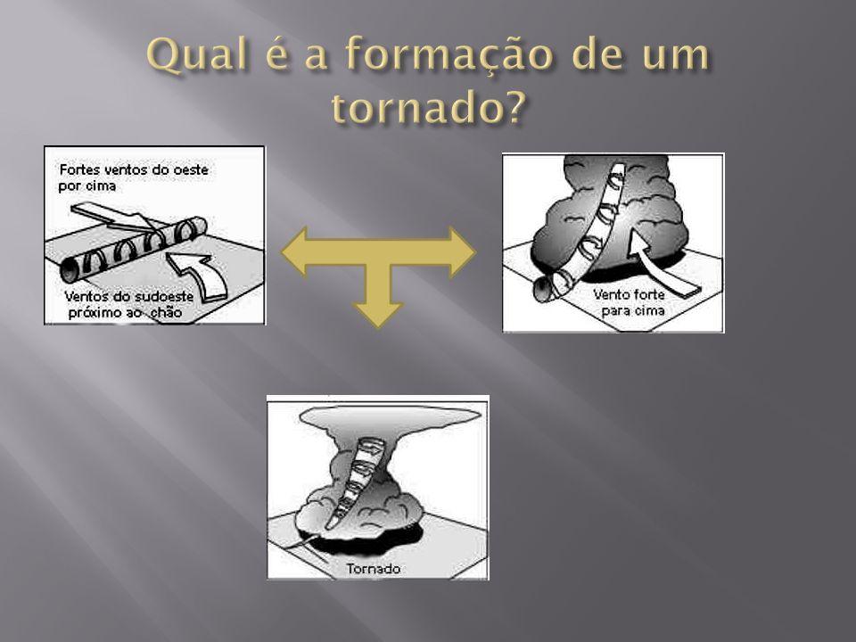 Qual é a formação de um tornado