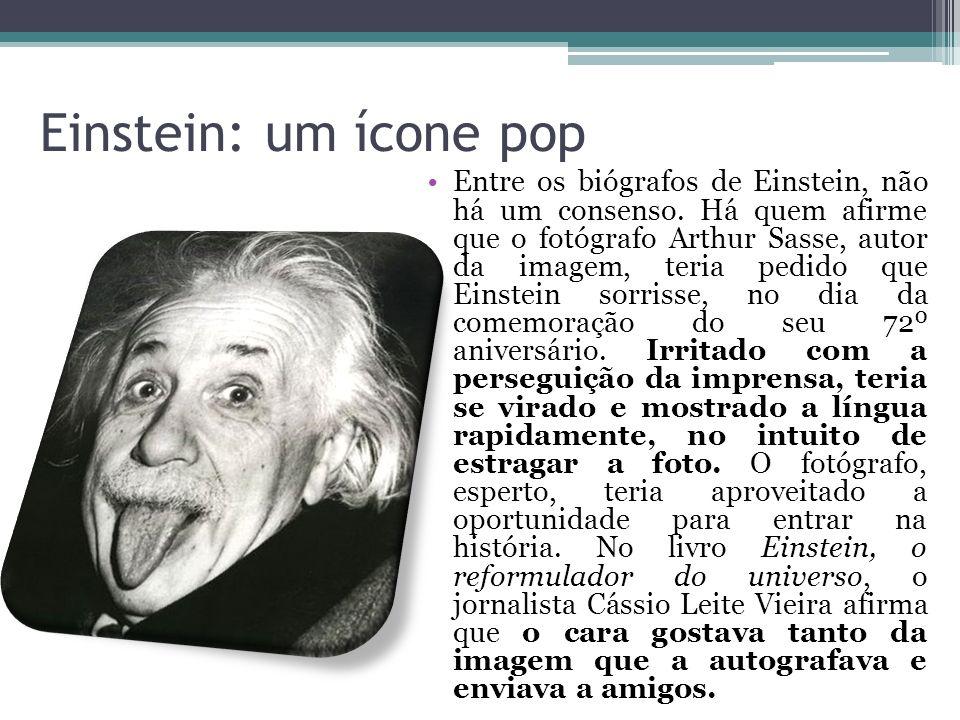 Einstein: um ícone pop