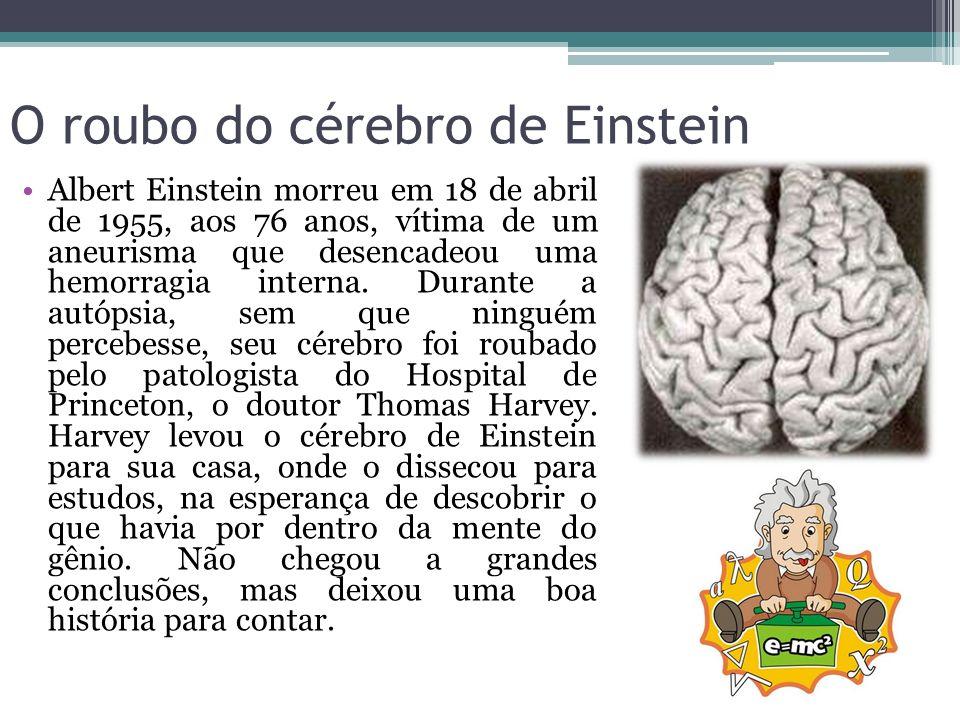O roubo do cérebro de Einstein