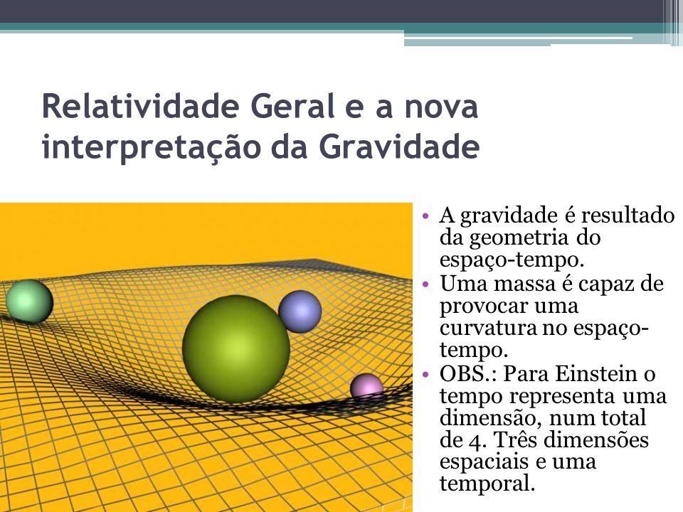 Relatividade Geral e a nova interpretação da Gravidade