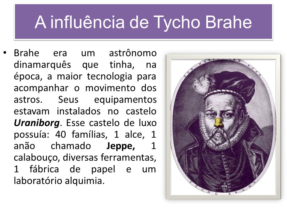 A influência de Tycho Brahe