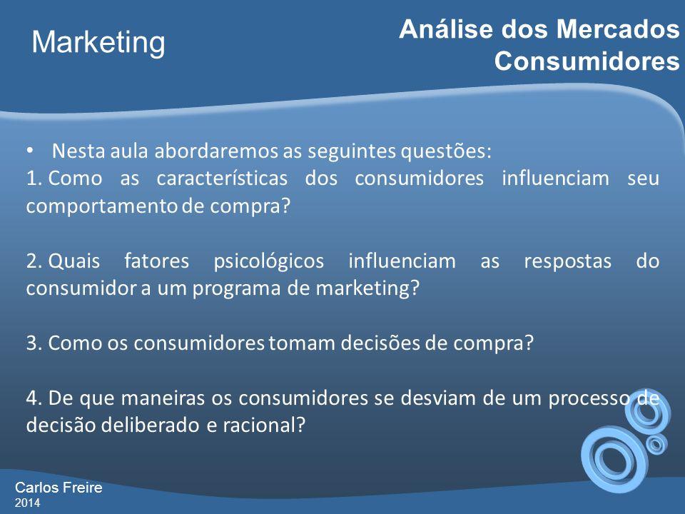 Marketing Análise dos Mercados Consumidores