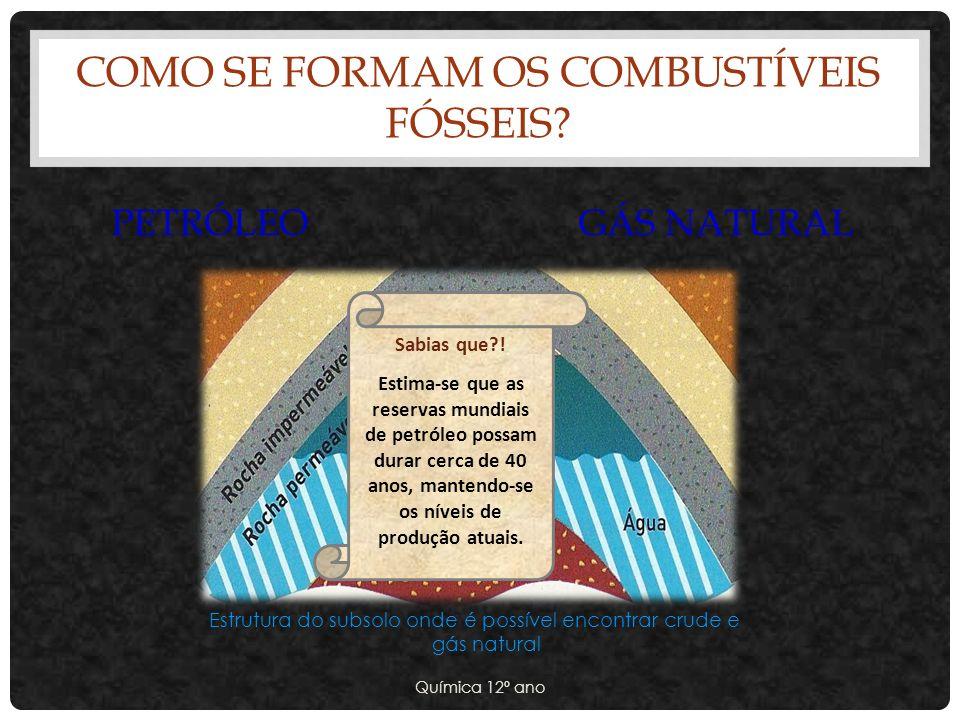 Como se Formam os combustíveis fósseis