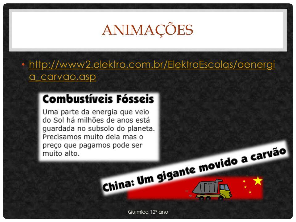 Animações http://www2.elektro.com.br/ElektroEscolas/aenergia_carvao.asp.