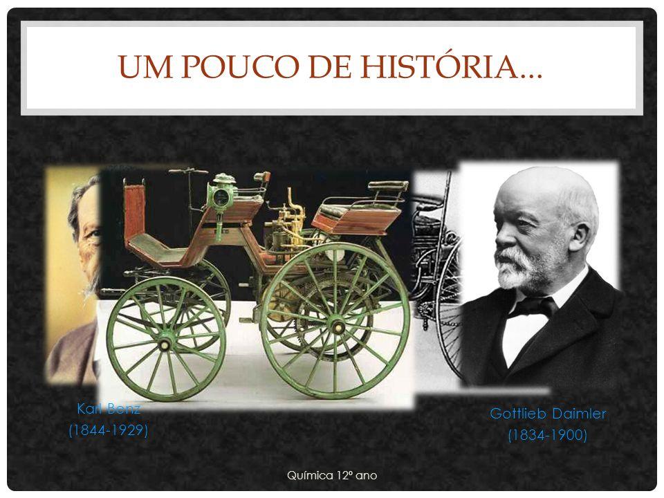 Um pouco de história... Karl Benz Gottlieb Daimler (1844-1929)