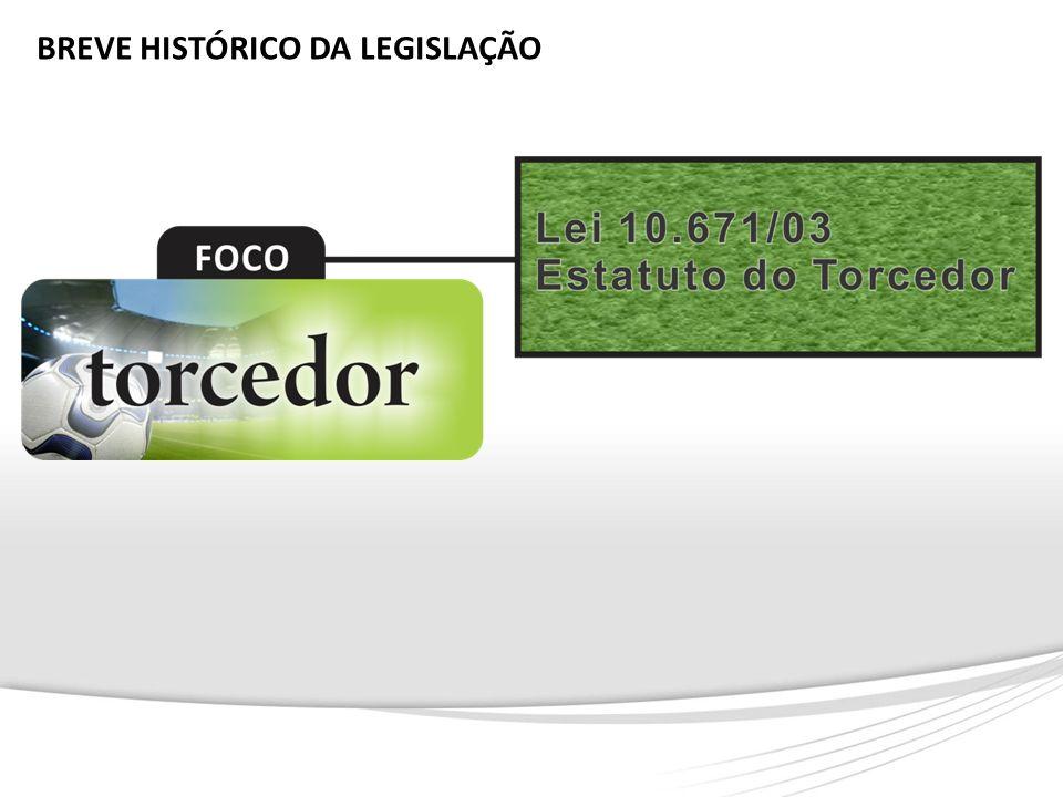 BREVE HISTÓRICO DA LEGISLAÇÃO
