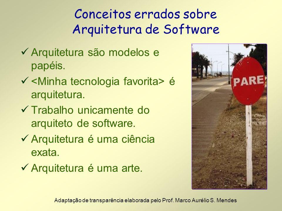 Conceitos errados sobre Arquitetura de Software