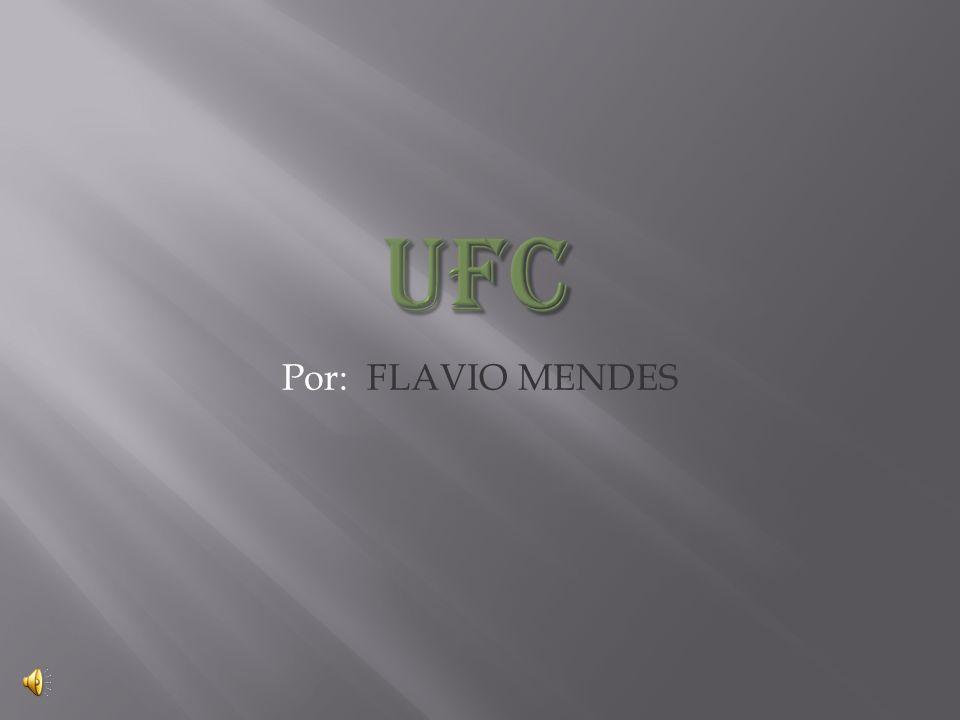 UFC Por: FLAVIO MENDES