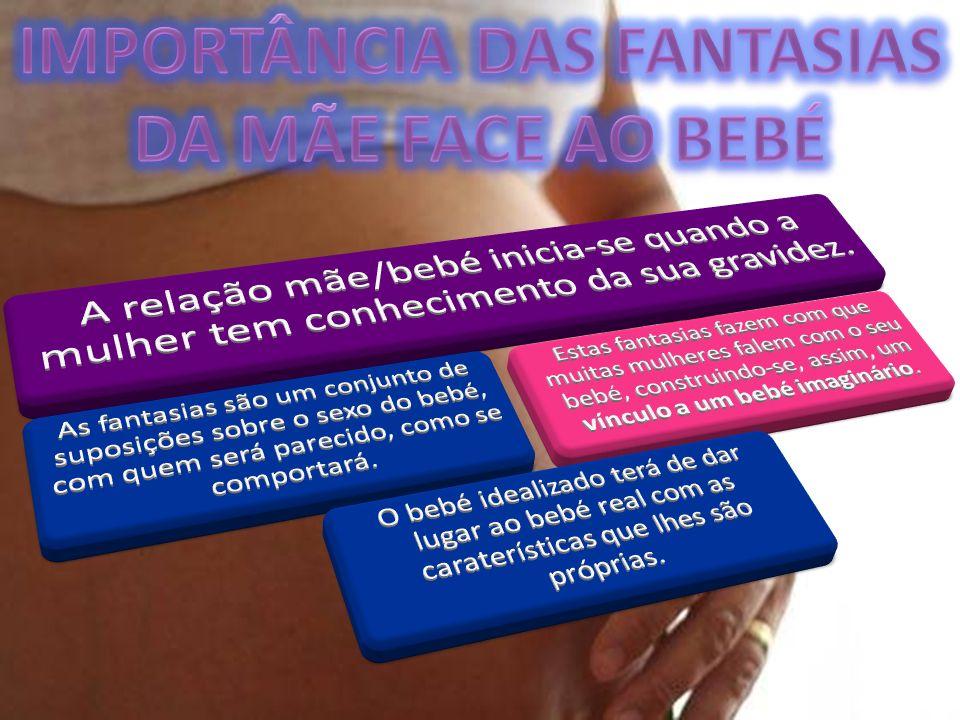 IMPORTÂNCIA DAS FANTASIAS DA MÃE FACE AO BEBÉ
