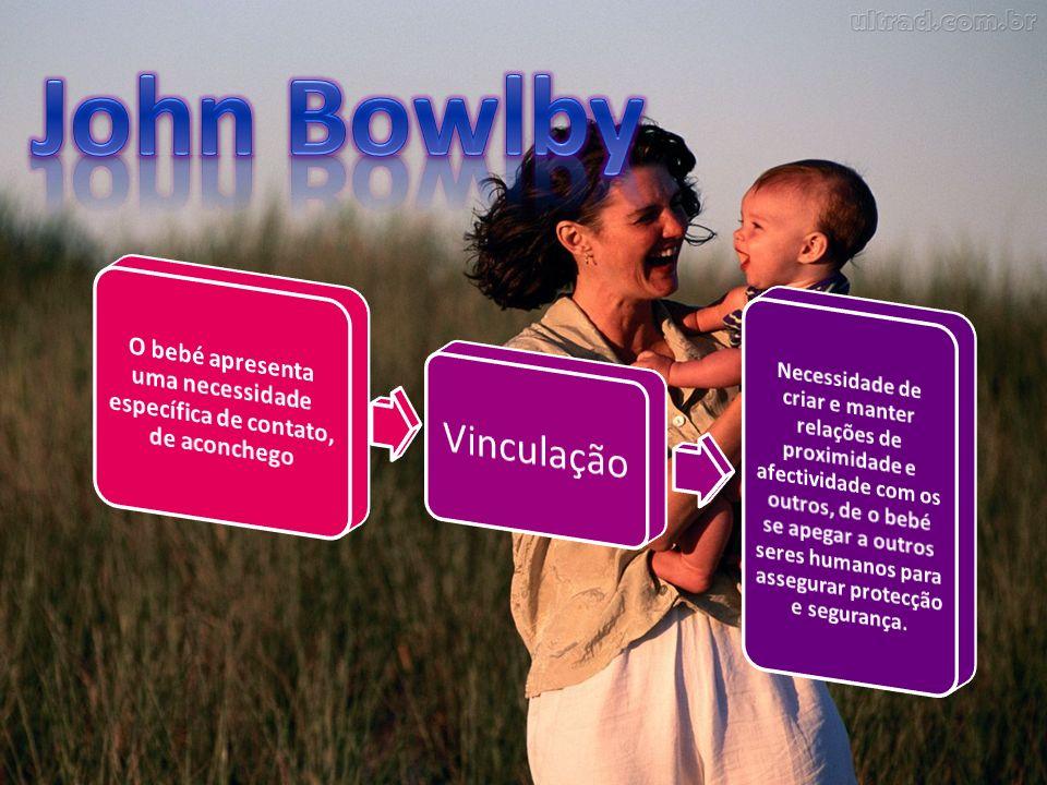 O bebé apresenta uma necessidade específica de contato, de aconchego