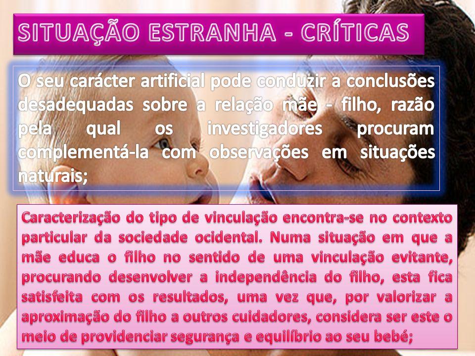 SITUAÇÃO ESTRANHA - CRÍTICAS