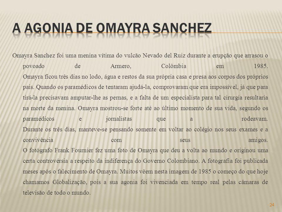 A agonia de omayra sanchez