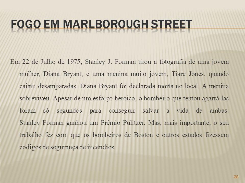 Fogo em Marlborough Street
