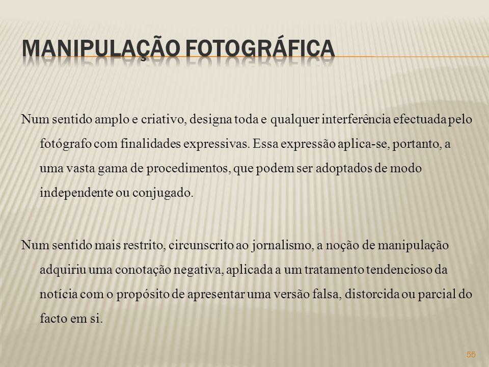 Manipulação fotográfica