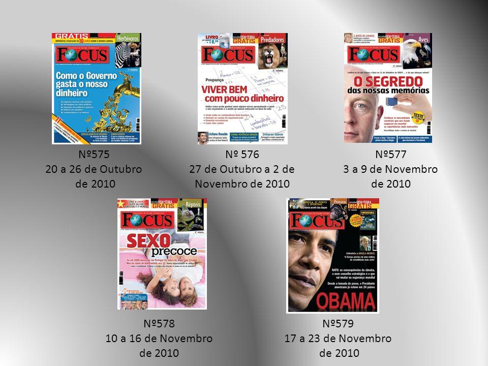 27 de Outubro a 2 de Novembro de 2010