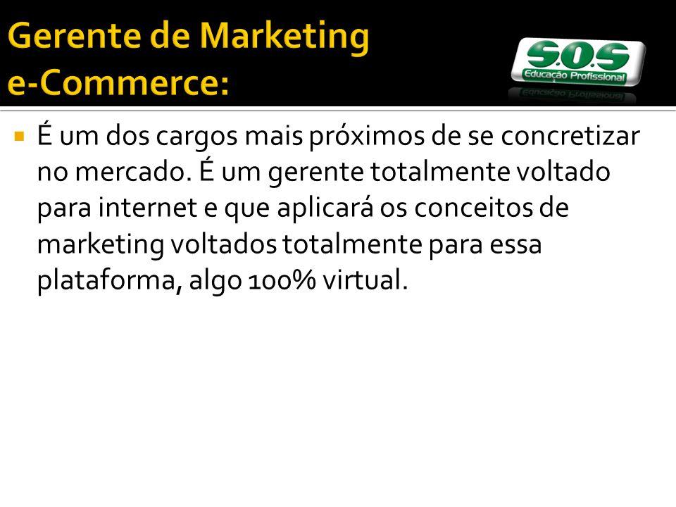 Gerente de Marketing e-Commerce: