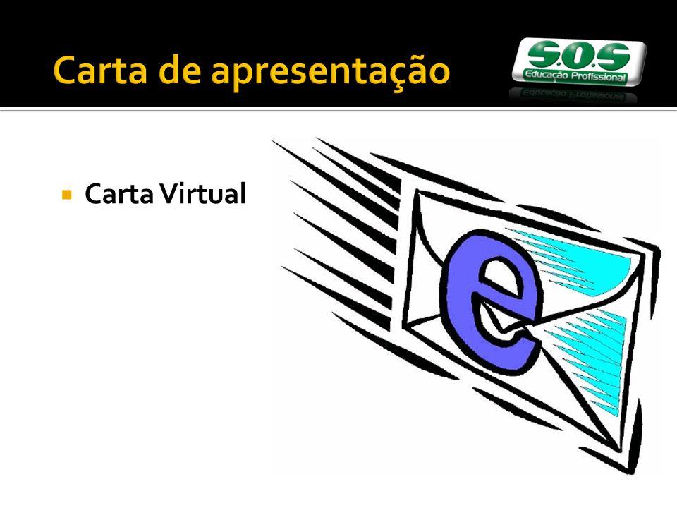Carta de apresentação Carta Virtual