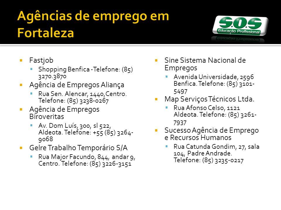 Agências de emprego em Fortaleza