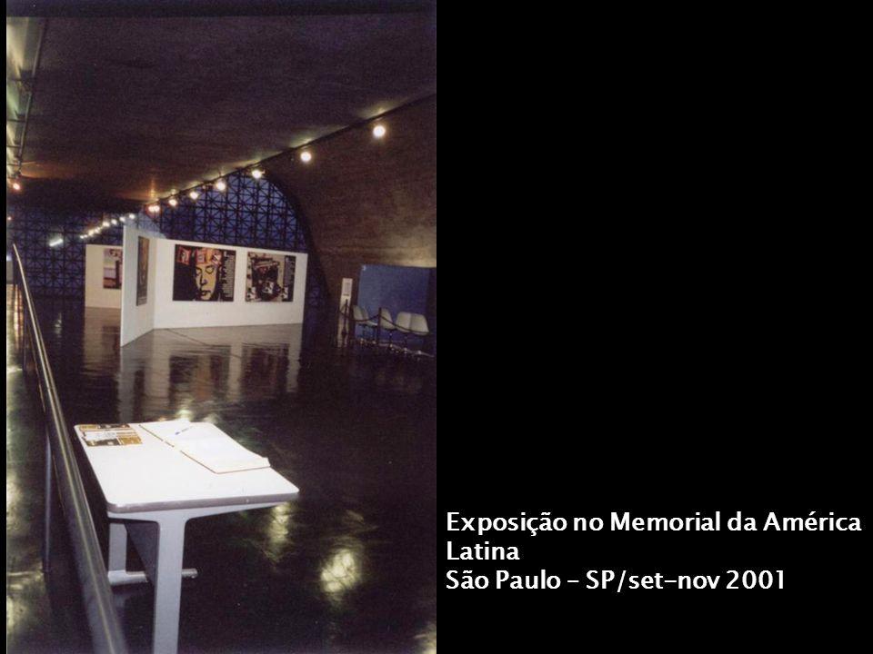 Exposição no Memorial da América Latina