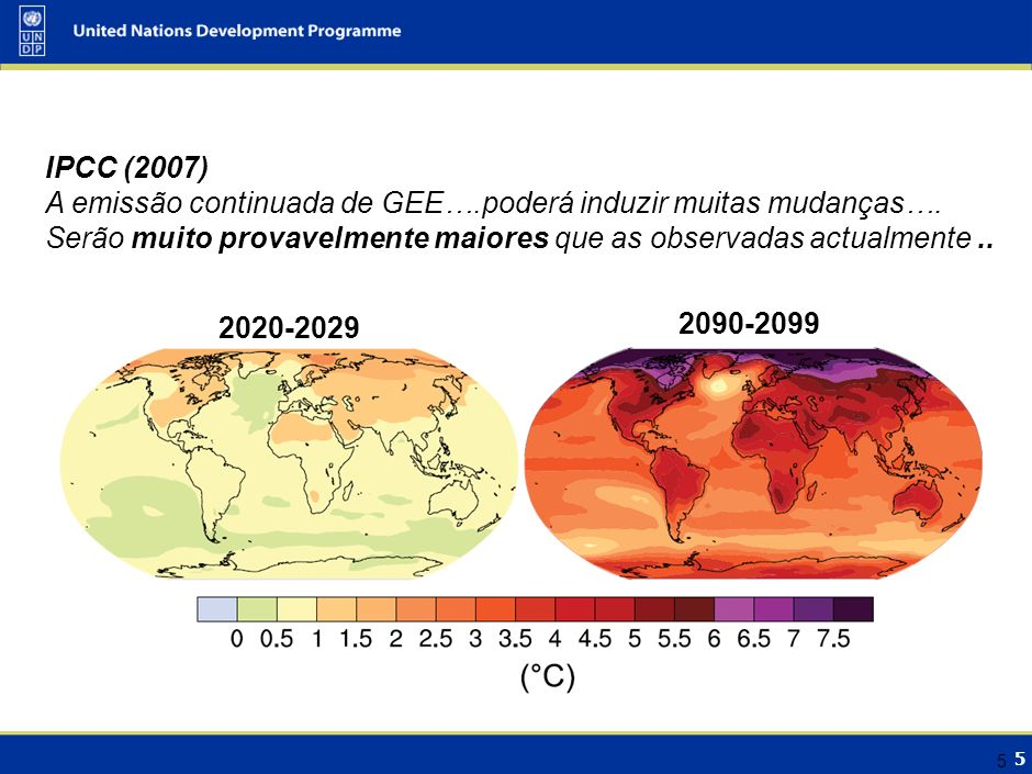 Situação Climática: a larga Escala