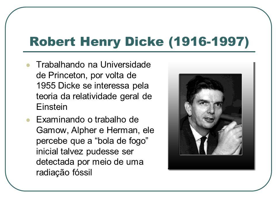 Robert Henry Dicke (1916-1997)