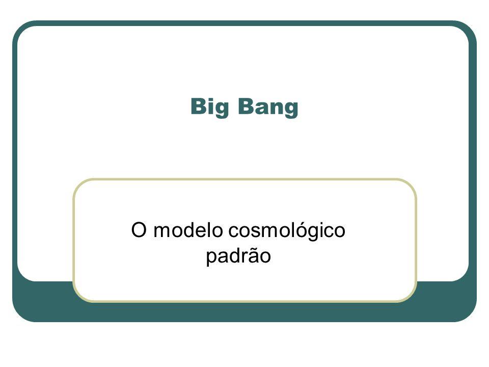 O modelo cosmológico padrão